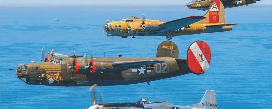 The Wings of Freedom Tour-August 14th to 16th- Unique Display at Chautauqua County /Jamestown Airport