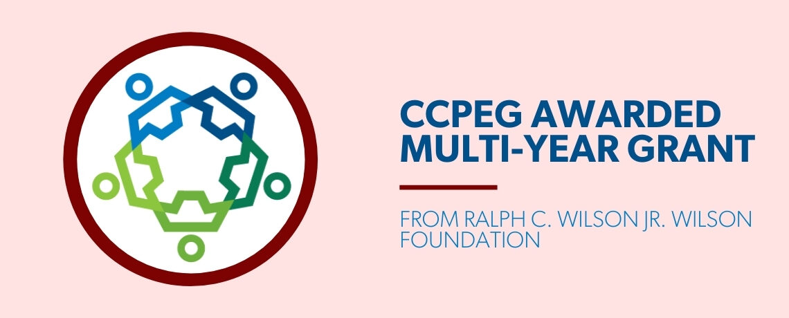 CHAUTAUQUA COUNTY PARTNERSHIP FOR ECONOMIC GROWTH AWARDED MULTI-YEAR GRANT FROM RALPH C. WILSON JR. WILSON FOUNDATION